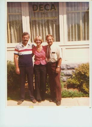 Left to Right Wendell Petri, Debbie Ruley, William Ruley